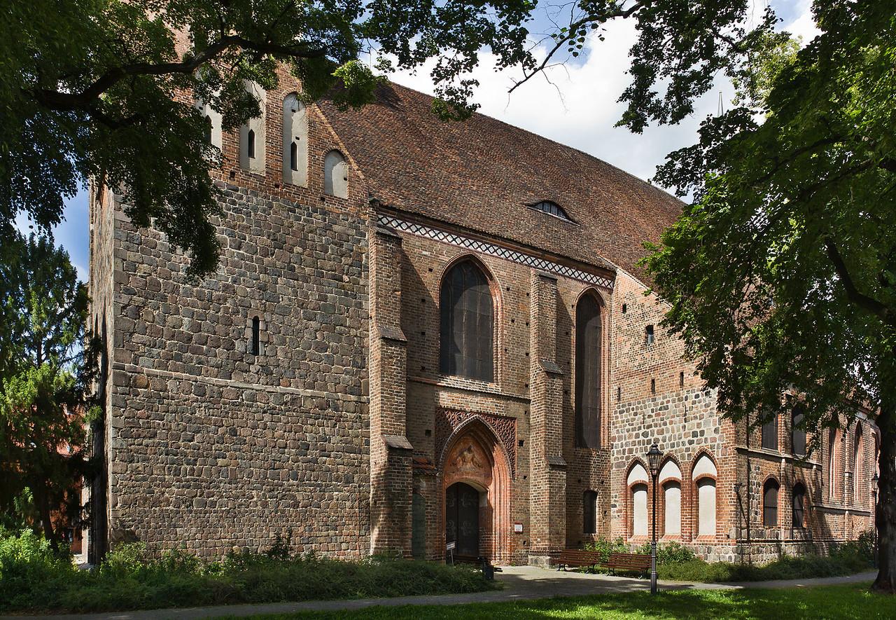 Brandenburg, St. Gotthardt. Ansicht von Süden
