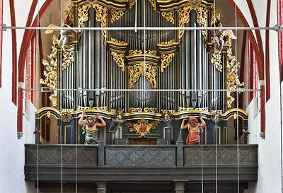 Brandenburg, Dom. Orgel (1725)