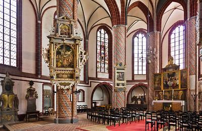 Brandenburg, St. Gotthardt. Chor nach Nordosten