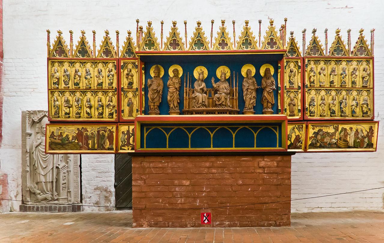 Brandenburg, Dom. Böhmischer Altar (um 1375)