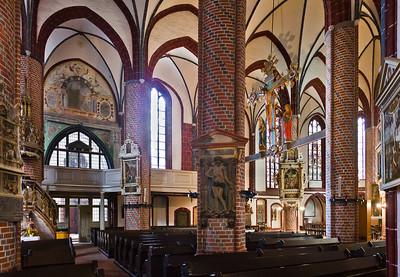 Brandenburg, St. Gotthardt. Inneres nach Nordwesten