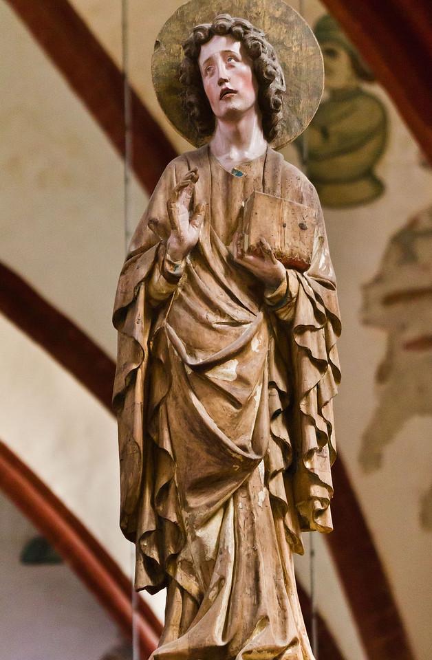 Brandenburg, Dom. Triumpfkreuzgruppe: Johannes