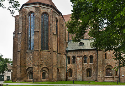Brandenburg, Dom. Chor und Bunte Kapelle von Osten