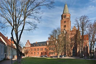 Brandenburg, Dom. Ansicht von Westen