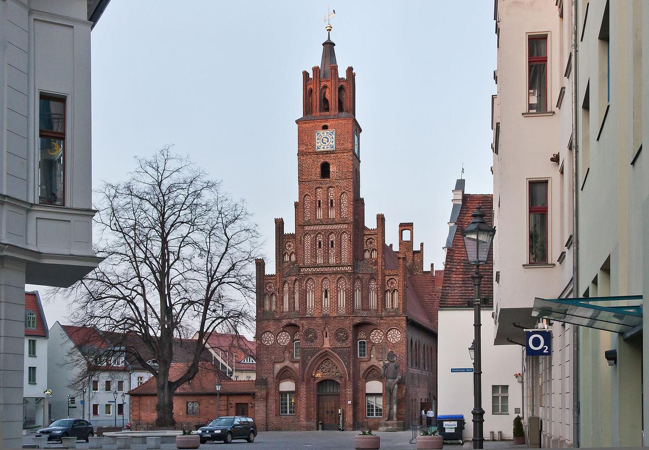 Brandenburg, Altstadtrathaus von Süden