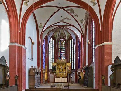 Brandenburg, Dom. Hochchor nach Osten