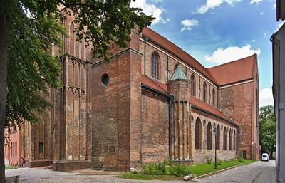 Brandenburg, Dom. Ansicht von Südwesten