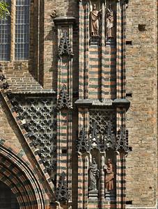 Brandenburg, St. Katharinen. Südportal, Detail