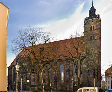 Brandenburg, St. Katharinen. Ansicht von Norden