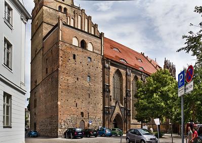 Brandenburg, St. Katharinen von Südwesten