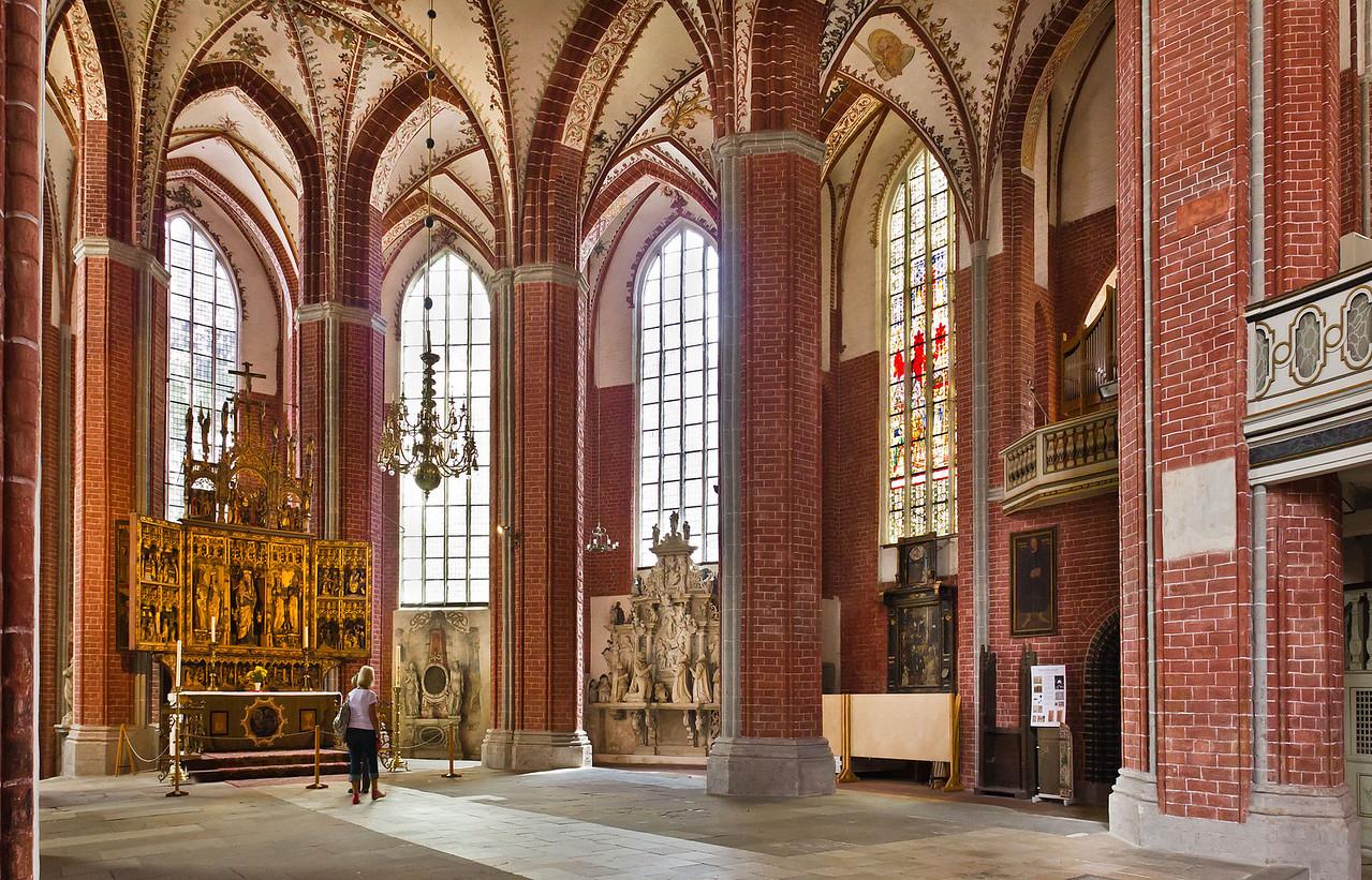 Brandenburg, St. Katharinen. Chor nach Südwesten