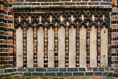 Brandenburg, St. Katharinen. Nordkapelle, Detail an der Ostseite