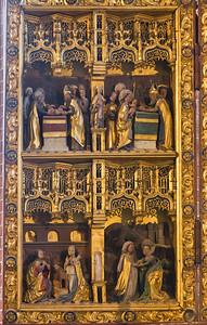 Brandenburg, St. Katharinen. Hochaltar: linker Seitenflügel