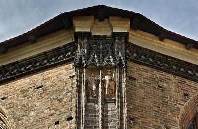 Brandenburg, St. Katharinen. Chor von Osten, Detail