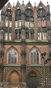Brandenburg, St. Katharinen. Nordkapelle von Norden