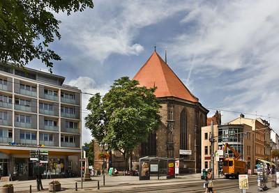 Brandenburg, St. Katharinen. Chor von Osten