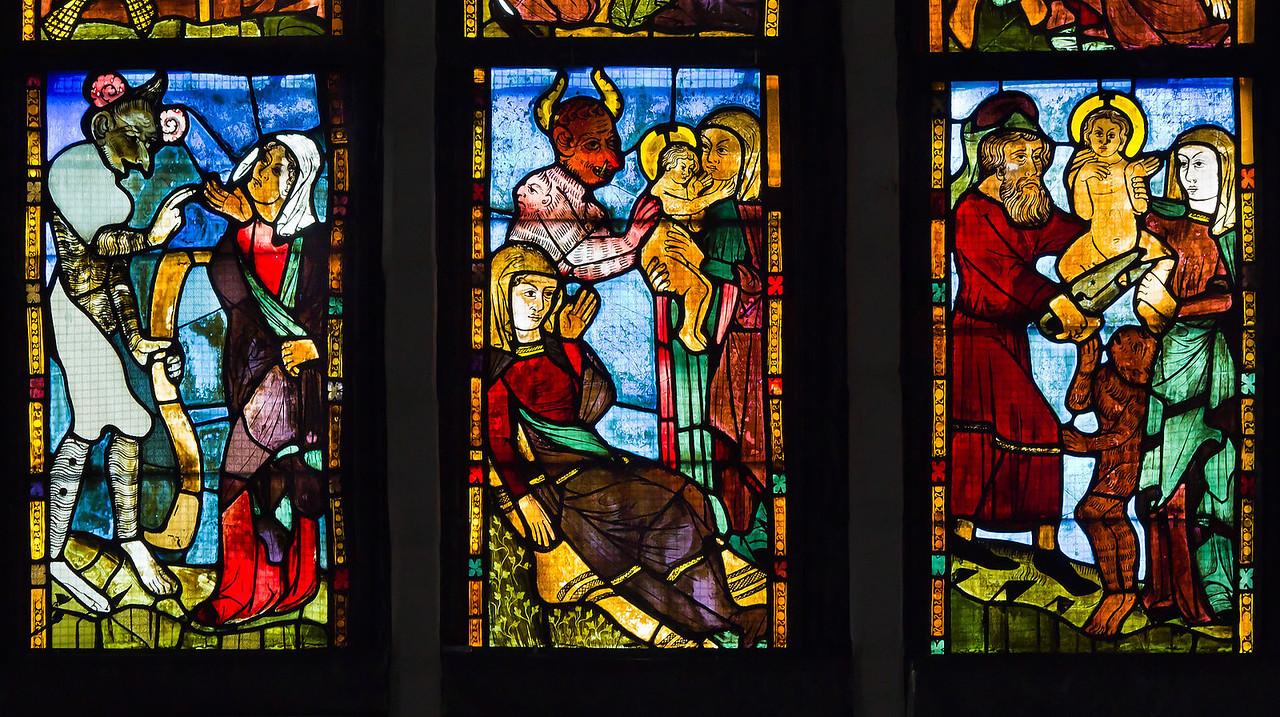 Antichristf. sII z1: Ankündig Geburt/ Geburt / Beschneidung des Antichrist