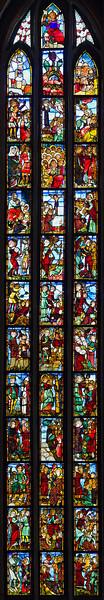 Frankfurt/Oder, St. Marien. Antichristfenster sII
