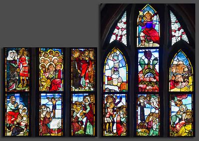 Antichristfenster sII, Zeile 9 (lu) bis 13 (ro)