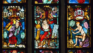 Christusf. I z10: Simson trägt Tor von Gaza / Auferstehung Jesu / Jonas Rettung aus Fisch