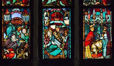 Christusf. I z1: Berufung des Mose / Geburt Jesu / Aarons blühender Stab