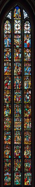 Frankfurt/Oder, St. Marien. Christusfenster I