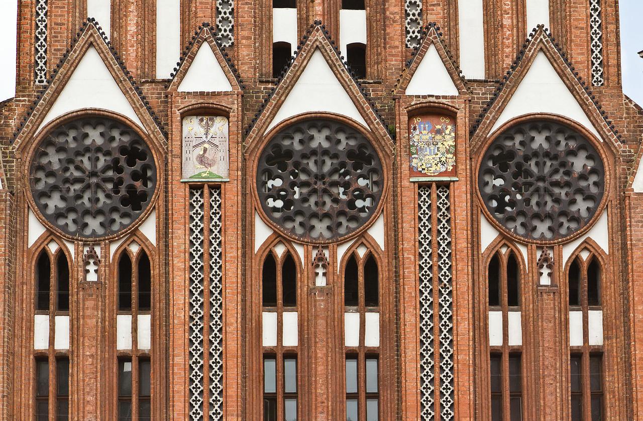 Frankfurt/Oder, Rathaus. Prunkgiebel, Detail