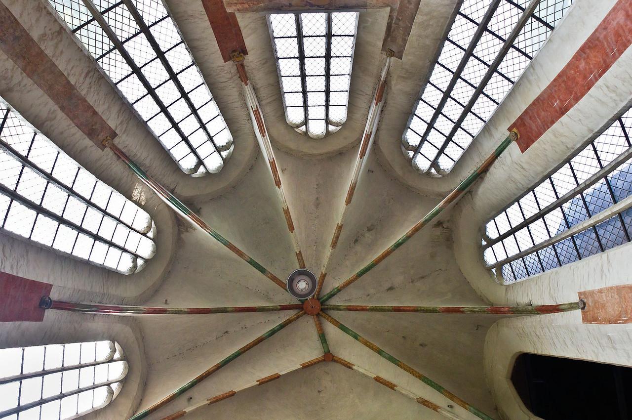 Frankfurt/Oder, St. Marien. Gewölbe der nördl. Eingangshalle