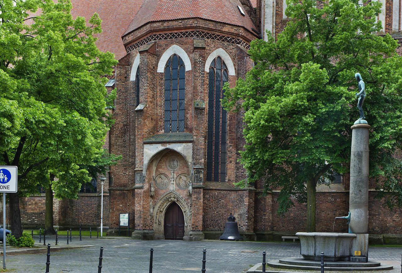 Frankfurt/Oder, St. Marien. nördl. Eingangshalle