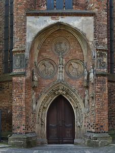 Frankfurt/Oder, St. Marien. Portal der nördl. Eingangshalle
