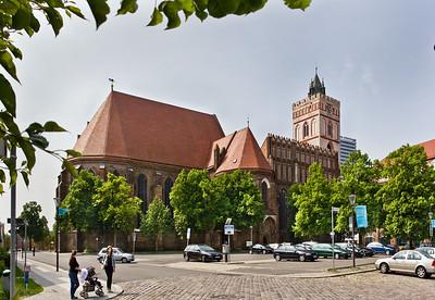 Frankfurt/Oder, St. Marien von Nordosten