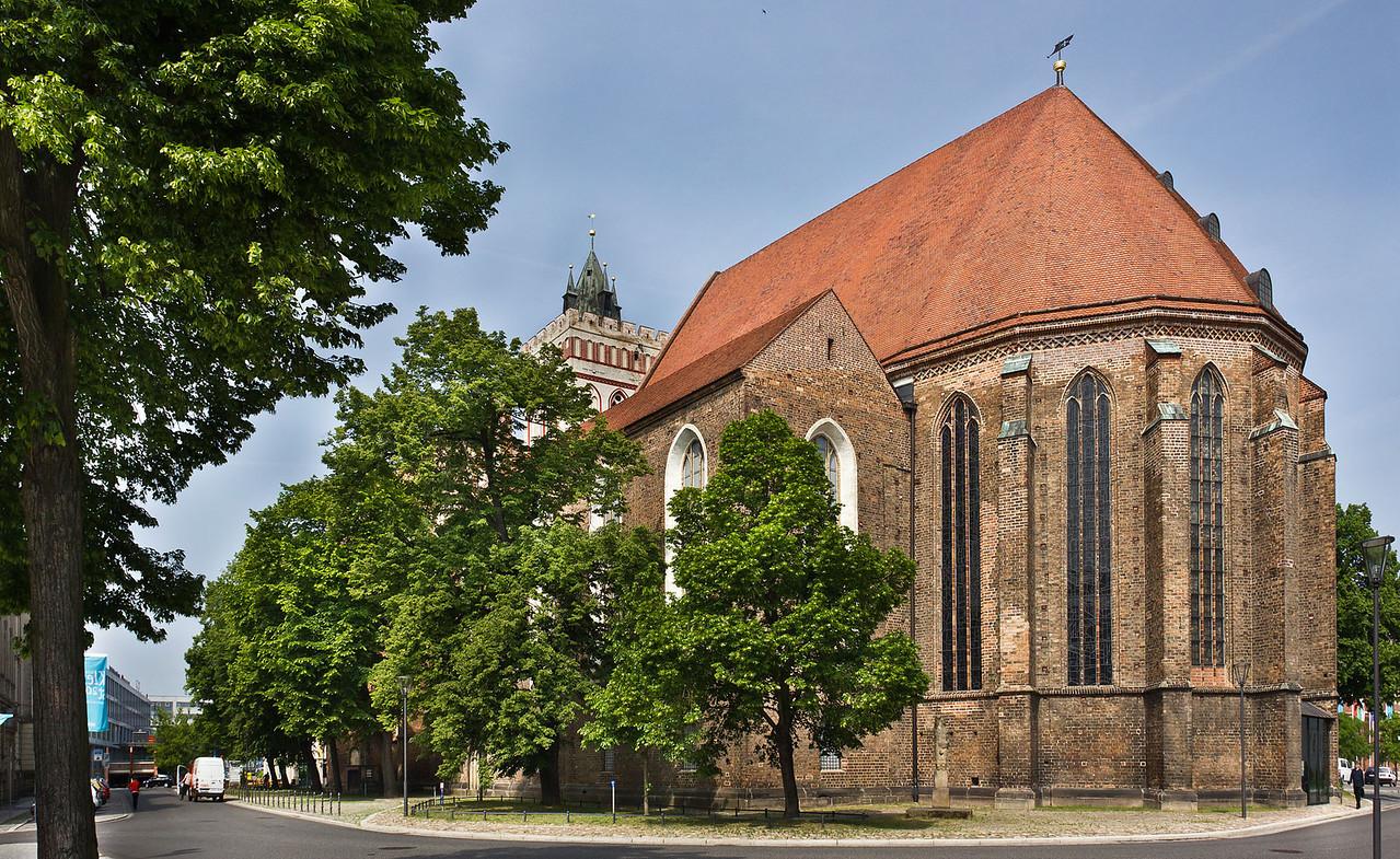 Frankfurt/Oder, St. Marien von Südosten