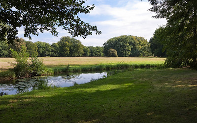 Branitz, Westpark, am westlichen Rand