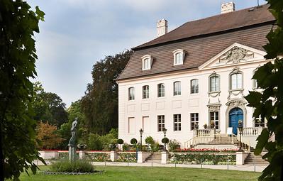 Schloss Branitz, Hofseite