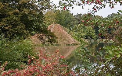 Branitz, Westpark, Seepyramide