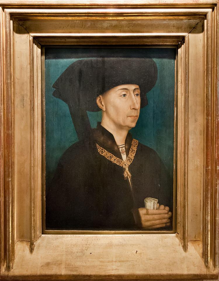 Dijon, Herzogspalast. Rogier van der Weyden, Werkstatt: Philipp der Gute (um 1445)