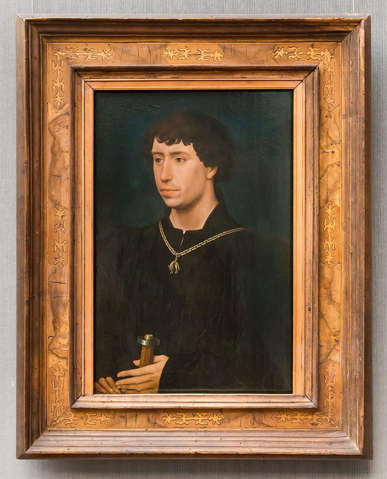 Rogier van der Weyden: Karl der Kühne als Graf von Charolais (um 1461/62) [Gemäldegalerie Berlin]