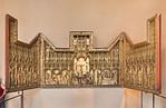 Jaques de Baerze, Schnitzaltar aus Klosterkirche von Champmol (1390) [Dijon, Musée des Beaux-Arts]