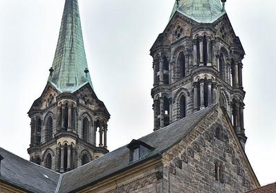 Bamberg. Dom: Westtürme