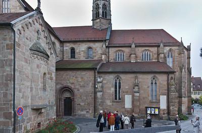 Heilsbronn, Münster: Chor und Heideckerkapelle von Süden