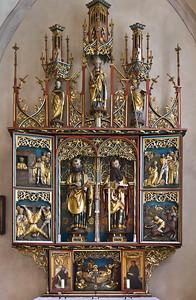 Heilsbronn, Münster: Peter- und Paulusaltar (Peter Strauss, 1519/18)