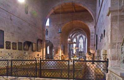 Heilsbronn, Münster: östliches Langhaus und Chor