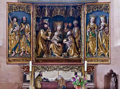 Heilsbronn, Münster: Ostchor, Hochaltar (Wohlgemuthsche Werkstatt, 1502/10)
