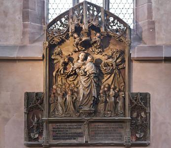 Nürnberg. Frauenkirche: Pergenstorffer Epitaph (Adam Kraft, 1498)
