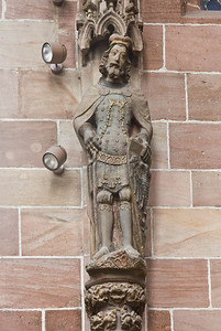 Nürnberg. Frauenkirche: hl. Wenzel (um 1360)