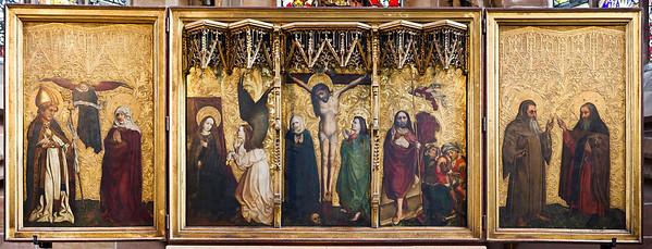 Nürnberg. Frauenkirche: Tucheraltar (um 1450)