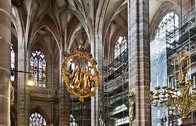 Nürnberg. St. Lorenz: Chor mit Englischem Gruß