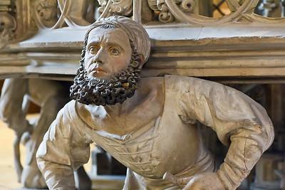 Nürnberg. St. Lorenz: Sakramentshaus, Meister Adam Kraft