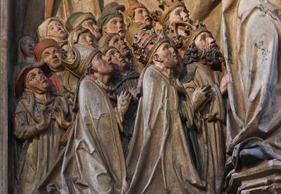 Nürnberg. Frauenkirche: Pergenstorffer Epitaph, Detail