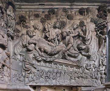 Nürnberg. St. Sebald: Epitaph Schreyer-Landauer, mitte links